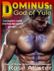 Dominus: God of Yule (A Sons of Herne urban fantasy romance): Sons of Herne, #1