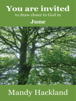 You Are Invited to Draw Closer to God in June