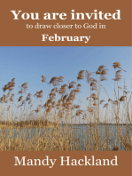 You Are Invited to Draw Closer to God in February