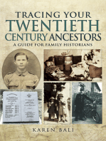 Tracing Your Twentieth-Century Ancestors