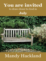You Are Invited to Draw Closer to God in July