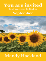 You Are Invited to Draw Closer to God in September