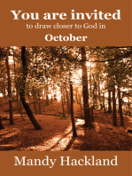 You Are Invited to Draw Closer to God in October