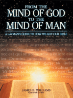 From the Mind of God to the Mind of Man
