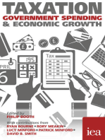 Taxation, Government Spending and Economic Growth