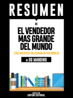El Vendedor Mas Grande del Mundo (The Greatest Salesman In The World) - Resumen Del Libro De Og Mandino