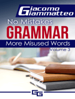 No Mistakes Grammar, Volume III, More Misused Words