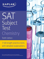 SAT Subject Test Chemistry