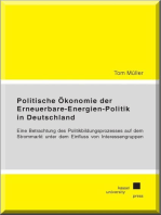 Politische Ökonomie der Erneuerbare-Energien-Politik in Deutschland