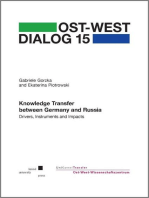 Knowledge Transfer between Germany and Russia