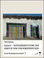 KaSyCo – Kategoriensysteme zur Analyse von Coachingprozessen