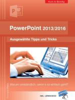PowerPoint 2013/2016 kurz und bündig
