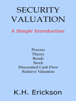 Security Valuation: A Simple Introduction