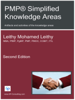 PMP® Simplified Knowledge Areas: Artifacts and activities of the knowledge areas