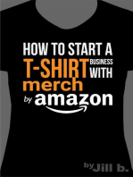 How to Start a T-Shirt Business on Merch by Amazon