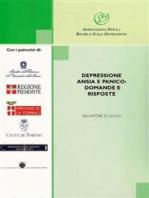 Depressione, ansia e panico domande e risposte