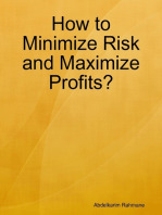How to Minimize Risk and Maximize Profits?