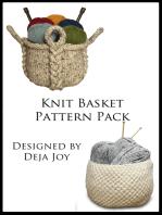Knit Basket Pattern Pack