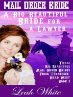 A Big Beautiful Bride for a Lawyer (Mail Order Bride)