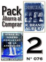 Pack Ahorra al Comprar 2 (No 076): Atrae el dinero con la ley de la atracción & Aprende a dibujar en una hora