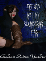 Disturb Not My Slumbering Fair