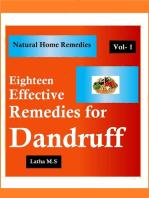 Eighteen Effective Remedies for Dandruff