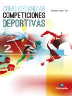 Cómo organizar competiciones deportivas
