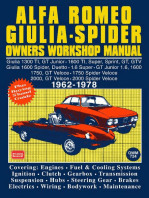The Alfa Romeo Spider Owners Work Manual
