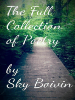 The Full Collection of Sky Boivin's Poetry