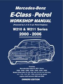 Owners Manual Mercedes E220 1999