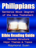 Philippians - Sentence Block Diagram Method