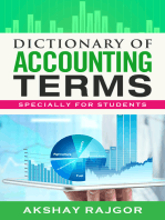 Dictionary of Accounting Terms