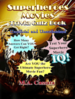 The Superheroes Movies Trivia Quiz Book