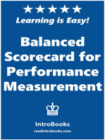 Balanced Scorecard for Performance Measurement