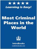 Most Criminal Places in the World