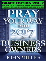 Pray Your Way Into 2017 for Business Owners (Grace Edition) Volume 2