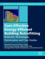Cost-Effective Energy Efficient Building Retrofitting