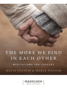 The More We Find in Each Other: Meditations for Couples