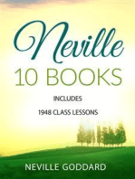 Neville 10 Books - Includes 1948 Class Lessons
