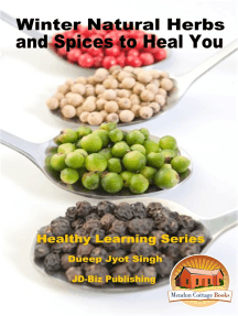 Winter Natural Herbs and Spices to Heal You