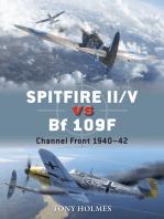 Spitfire II/V vs Bf 109F