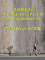 General Characteristic of Endurance