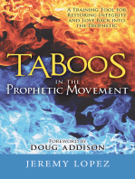 Taboos In The Prophetic Movement