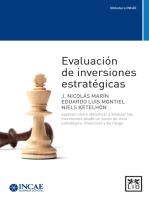 Evaluación de inversiones estrátegicas