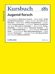 Kursbuch 181: Jugend forsch