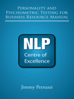 Personality and Psychometric Testing In Business Resource Manual