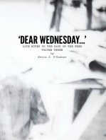'Dear Wednesday...' Love Notes to the Days of the Week, Volume Three
