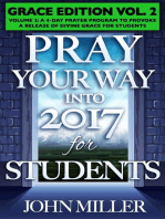 Pray Your Way Into 2017 for Students (Grace Edition) Volume 2