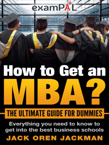 How To Get An MBA? The Ultimate Guide For Dummies