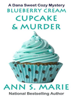 Blueberry Cream Cupcake & Murder